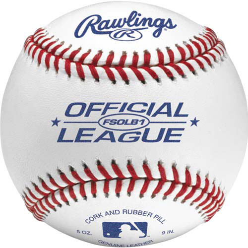 Rawlings FSOLB1 Flat Seam Official League Baseballs