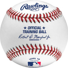 Official Rawlings ROTB10 Level 10 Training Baseballs from On Deck Sports