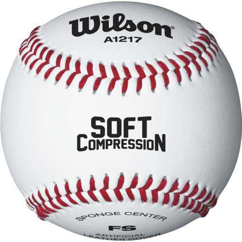 Wilson Soft Compression A1217B Training Baseballs