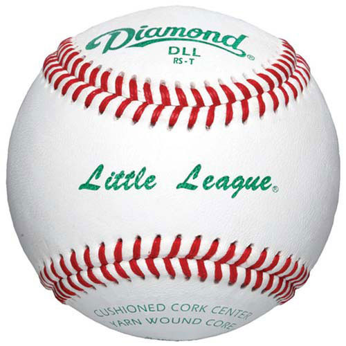 One Dozen Diamond DLL Little League Baseballs