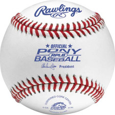 Rawlings RPLB Pony League Baseballs
