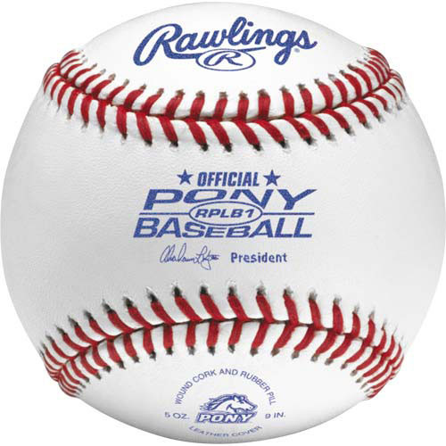 Rawlings RPLB1 Pony League Baseballs