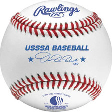 One Dozen Rawlings ROLBUSSSA Raised Seam USSSA Junior Official Baseballs
