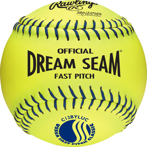 "Rawlings 12"" Dream Seam USSSA Softball from On Deck Sports"