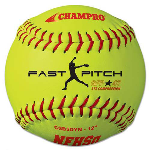 "Champro 12"" NFHS Competition Fastpitch Softballs from On Deck Sports"