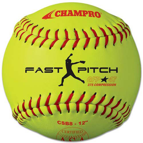 "Champro 12"" ASA Competition Fastpitch Softballs from On Deck Sports"
