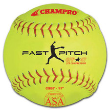 "One Dozen 11"" Champro ASA Competition Fastpitch Softballs from On Deck Sports"