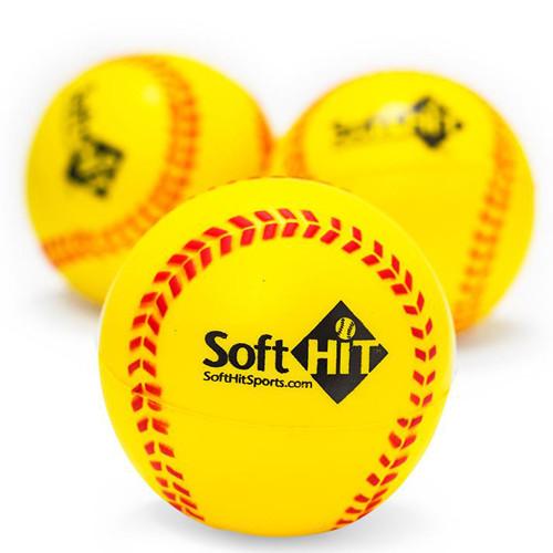 Soft Hit Training Softballs (Half Dozen)