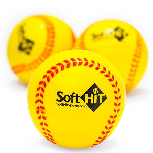 Soft Hit Training Softballs (Half Dozen)