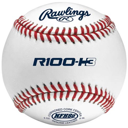 Rawlings R100-H3 Raised Seam Baseball