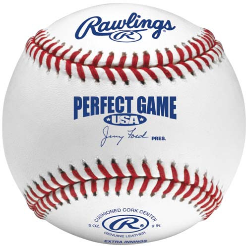 Rawlings Perfect Game Flat Seam Baseball