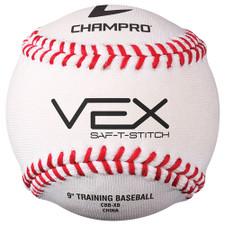 Saf-T-Stitch Vex Practice Baseball (Dozen)