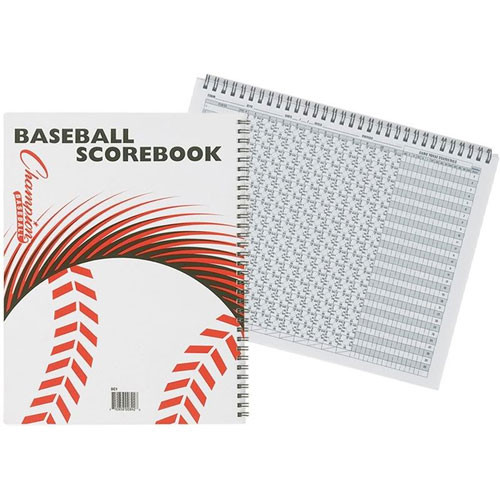 Standard Baseball and Softball Scorebook from On Deck Sports