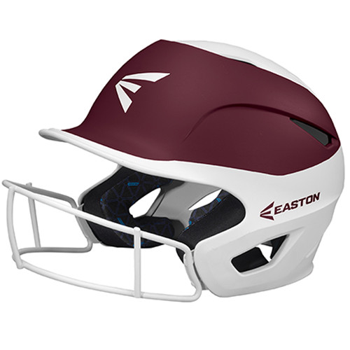 Easton Prowess Two-Tone Matte Fastpitch Batting Helmet with Mask