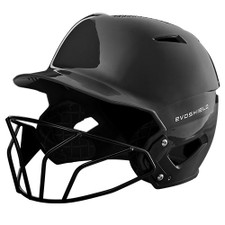 Evoshield XVT Glossy Batting Helmet with Softball Mask