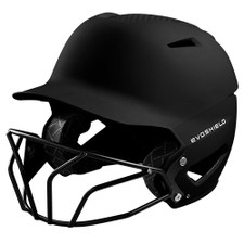 Evoshield XVT Matte Batting Helmet with Softball Mask
