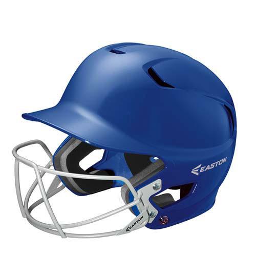 Easton Z5 Solid Baseball & Softball Batting Helmet With Faceguard
