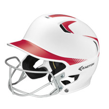 Easton Z5 Two Tone Baseball & Softball Batting Helmet With Facemask