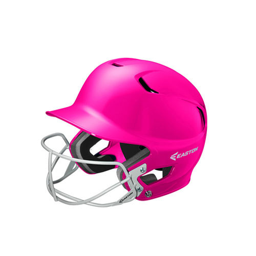 Easton Z5 Solid Batting Helmet With Softball Faceguard