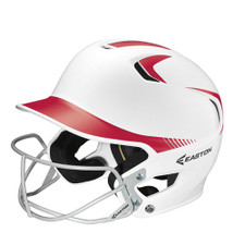 Easton Z5 Grip Two Tone Batting Helmet With Faceguard for Baseball & Softball