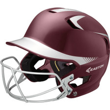Easton Z5 Two Tone Batting Helmet with Baseball & Softball Mask