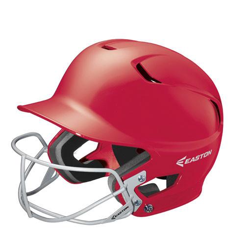 Easton Z5 Solid Batting Helmet With Faceguard