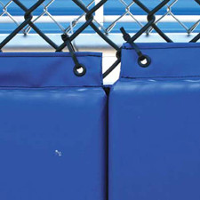 Backstop Padding with Grommets