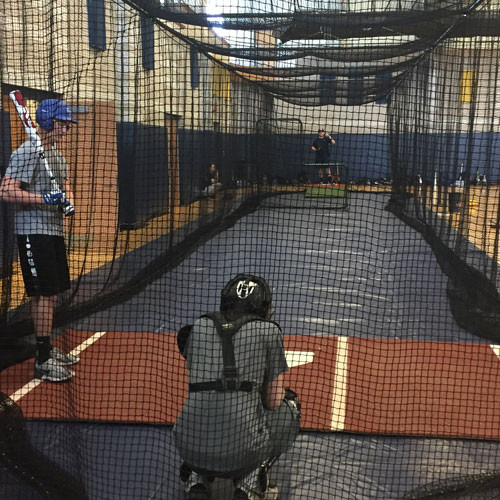 Batting Cage Floor Cover