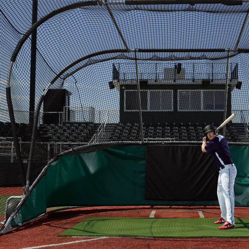 Big Bubba Portable Backstop Batting Cage from On Deck Sports