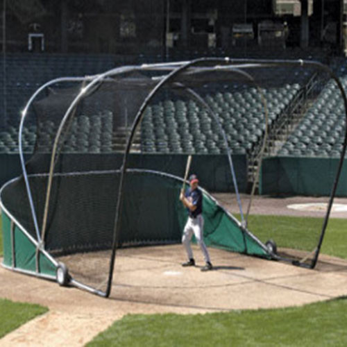 Big Bubba Portable Batting Cage Backstop for Batting Practice Protection