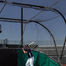Replacement Netting for Big Bubba Portable Backstop Batting Cage