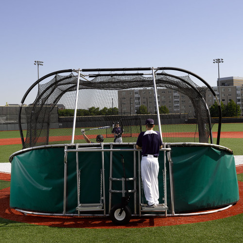 Replacement Vinyl Skirt for Big Bubba Portable Batting Cage Backstop