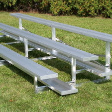Bleachers Without Fencing