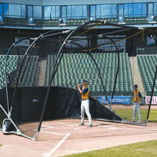 Big Bubba Elite Portable Backstop for Baseball & Softball Warmups