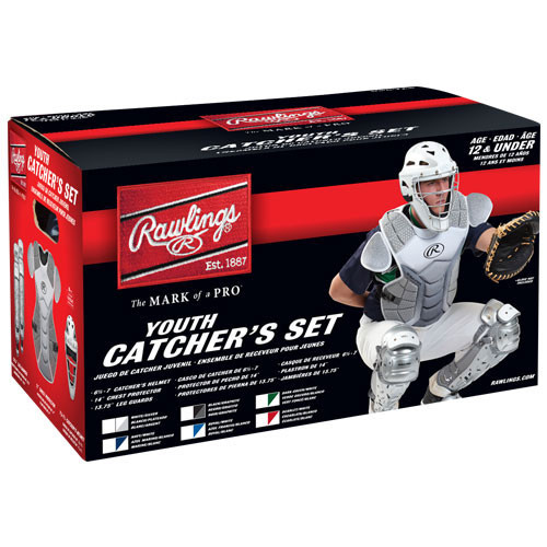Rawlings Velo Catcher's Set - Youth