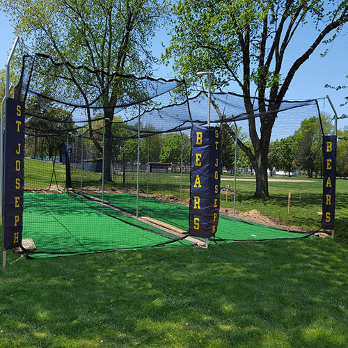 Commercial Double Batting Cage Systems