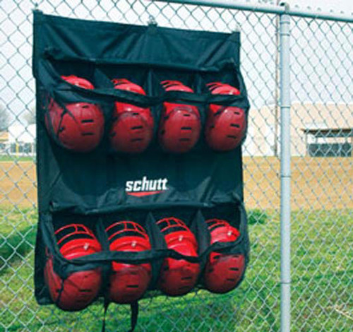 Schutt Hanging Helmet Bag Field Equipment Dugout