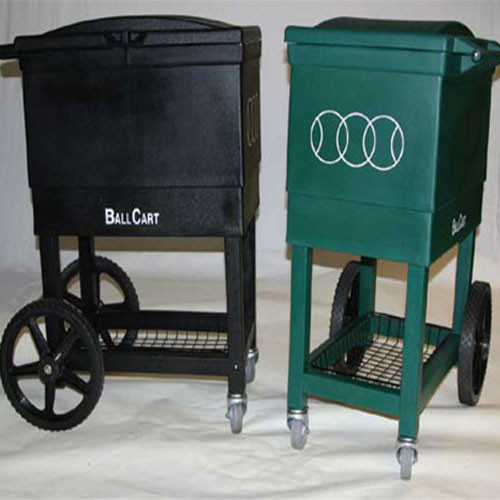 Baseball Sports Cart Black