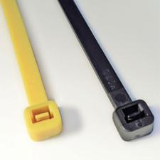 """8"""" Black Plastic Zip Ties"""