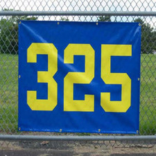 """Horizontal Outfield Distance Marker 38"""" x 56"""""""
