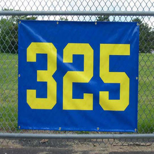 "Horizontal Outfield Distance Marker 38"" x 56"""