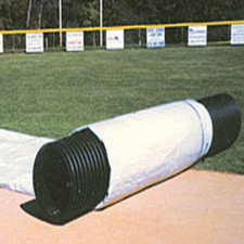 field tarps covers baseball softball field protection on
