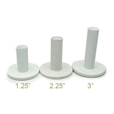 "2.25"" Rubber Golf Tee Set of 10"