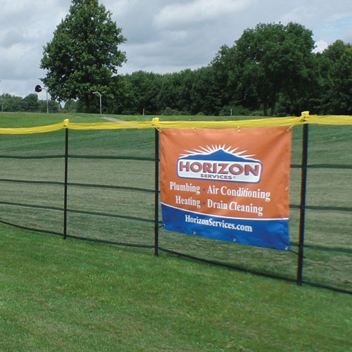 Grand Slam Fencing Banner Kit 300 Fence On Deck Sports