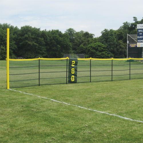 Grand Slam Fencing Premium Kit - 200' Fence - 5' Pole Spacing