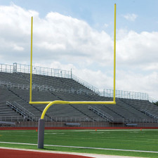 High School Gooseneck Steel Goal Posts