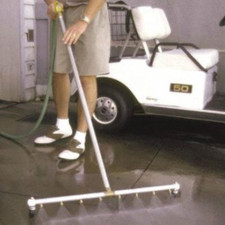 Jet Blast Water Broom