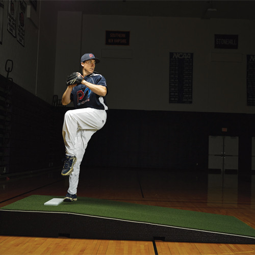 ProMounds Collegiate Pitching Mound with Green Turf