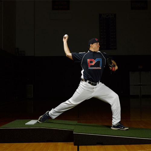 ProMounds Professional Two-Piece Pitching Mound with Green Turf