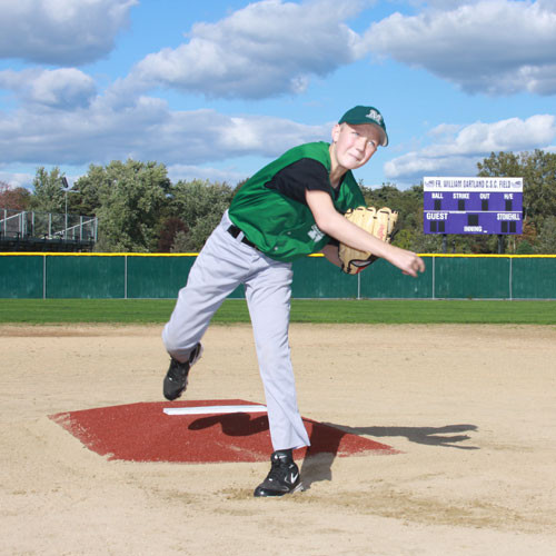 Portable Pitchers Mound Clay Turf Bronco League